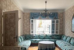 Tanger, Marshan, charmante petite maison ,année 50, vue mer, restée dans son authenticité .