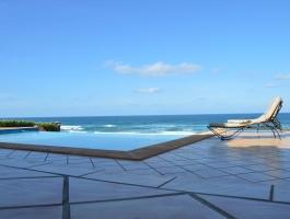 Aglou, province de Tiznit, villa sur la mer, piscine privée, résidence sécurisée .