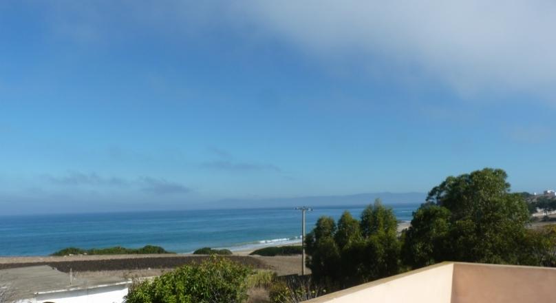 À louer, 13km de Tanger, 200 m de la plage, sur le detroit, jardin clos de 800m2