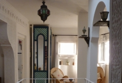 À vendre, au coeur de la fameuse médina de Tanger, maison traditionnelle , en partie rénovée avec gout ....