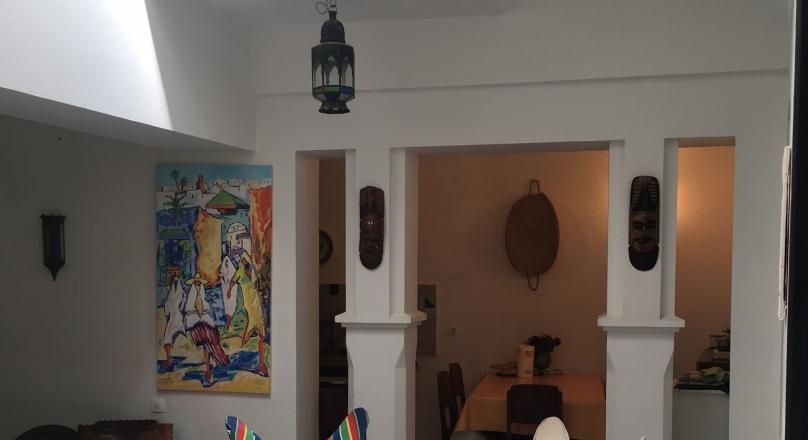 Assilah ..au cœur de la médina, charmante petite maison, Decoration raffinée