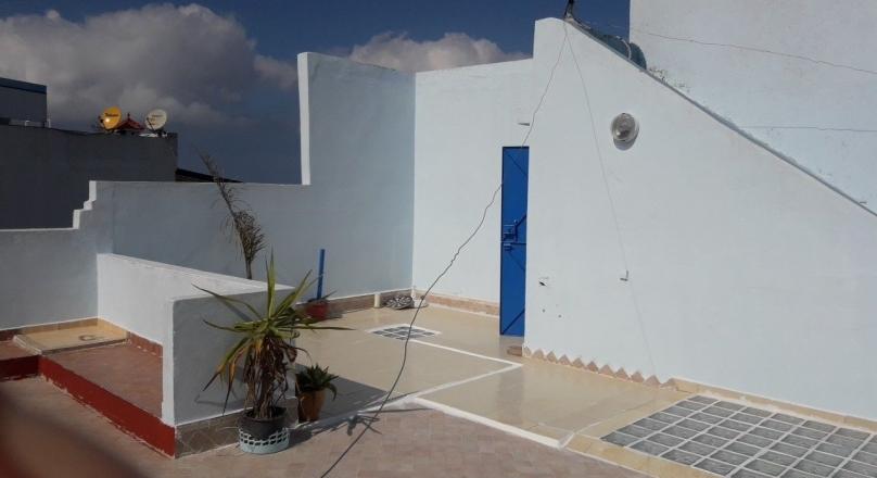 Tanger,Marshan, quartier recherché, maison traditionnelle à louer.